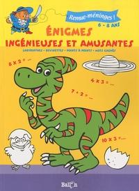 Ballon - Enigmes ingénieuses et amusantes - 6-8 ans.