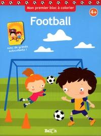 Ballon - Football - Avec de grand autocollants.