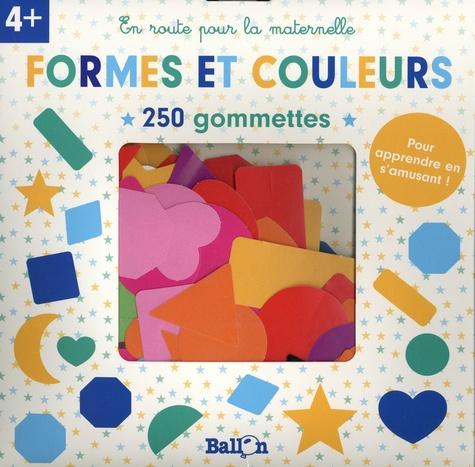 Formes et couleurs. 250 gommettes