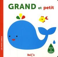 Ballon - Grand et petit - Livre à volets.