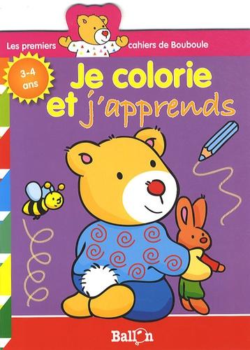 Ballon - Je colorie et j'apprends - 3-4 ans.