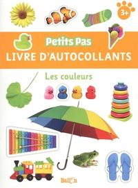 Ballon - Les couleurs - Livre d'autocollants.