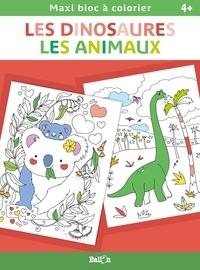 Ballon - Les dinosaures ; Les animaux.