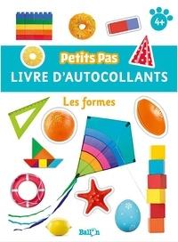 Ballon - Les formes - Livre d'autocollants.