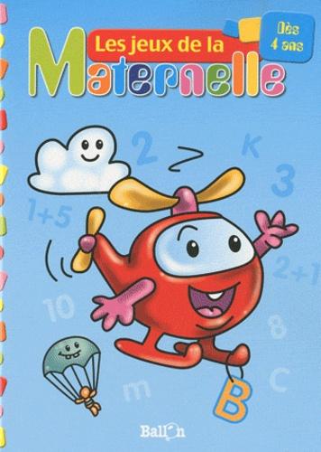 Ballon - Les jeux de la Maternelle (hélicoptère) - Des 4 ans.