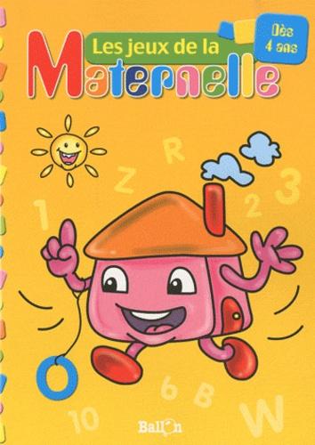 Ballon - Les jeux de la Maternelle (maison) - Dès 4 ans.