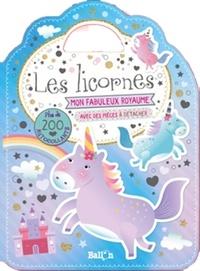 Ballon - Les licornes - Avec plus de 200 autocollants.