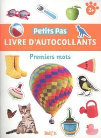 Ballon - Livre d'autocollants - Premiers mots.