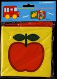 Ballon - Mon livre en tissu - Mes premiers mots.
