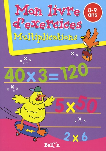 Ballon - Multiplications - 8-9 ans.