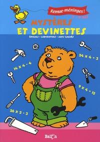 Ballon - Mystères et devinettes - Enigmes, labyrinthes, mots cachés - 7/9 ans.
