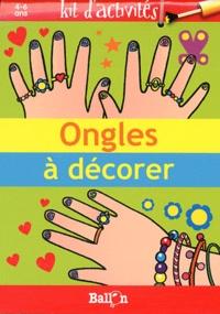 Ongles à décorer- Kit d'activités -  Ballon | Showmesound.org
