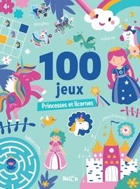 Ballon - Princesses et licornes - 100 jeux.