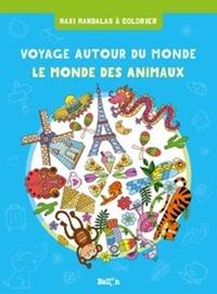 Ballon - Voyage autour du monde + animaux.