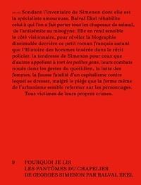 """Balval Ekel - Comme un trou lumineux dans le trottoir - Pourquoi je lis """"Les fantômes du chapelier"""" de G. Simenon."""