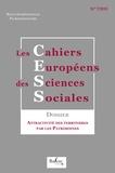 Balzac éditeur - Les cahiers européens des sciences sociales N°7/2015 : Attractivité des territoires par les patrimoines.