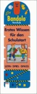 Bandolo Set 26. Erstes Wissen für den Schulstart - Vorschule. Lern - Spiel - Spass. Mit Lösungsschnur.