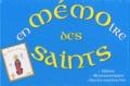 Bannières 2000 - En mémoire des saints.