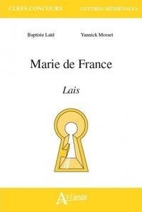 Baptiste Laïd et Yannick Mosset - Marie de France - Lais.