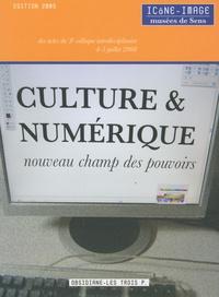 Baptiste-Marrey et Emmanuel Berry - Culture & numérique, nouveau champ des pouvoirs - Actes du 5e colloque interdisciplinaire Icône-Image du 4-5 juillet 2008.