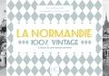 Barbara Aubé et Olivier Bouze - La Normandie 100 % vintage à travers la carte postale ancienne.