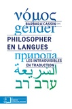 Barbara Cassin - Philosopher en langues - Les intraduisibles en traduction.
