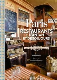 Barbara Kamir et Christian Sarramon - Paris - Restaurants d'antan et de toujours.