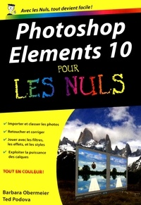 Barbara Obermeier - POCHE NULS  : Photoshop Elements 10 Poche pour les nuls.