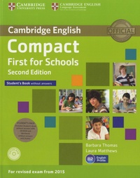 Ucareoutplacement.be Cambridge English Compact First for Schools B2 - Student's Book without Answers Image