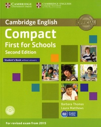 Lemememonde.fr Compact First for Schools Student's Book without Answers with CD-ROM Image