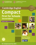 Barbara Thomas et Laura Matthews - Compact First for Schools - Student's Book. 1 Cédérom