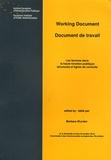 Barbara Wurster et Marie-José Raetsen - Les femmes dans la haute fonction publique - Structure et ligne de conduite.