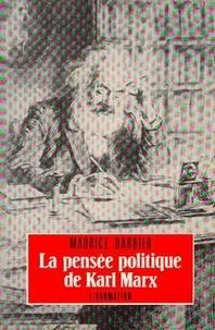 Barbier - PENSEE POLITIQUE DE MARX.