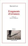 Barnabé Laye - Fragments d'errances.