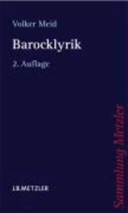 Barocklyrik.