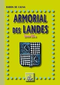 Armorial des Landes- Volume 3-A -  Baron de Cauna |