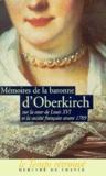 Baronne D'oberkirch - .