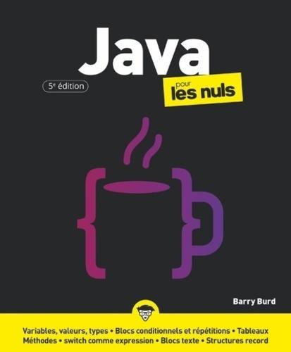 Java pour les nuls 5e édition
