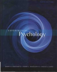 Barry-H Kantowitz et Henry-L Roediger - Experimental Psychology.