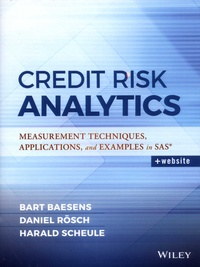 Era-circus.be Credit Risk Analytics - Measurement Techniques, Applications, and Examples in SAS Image