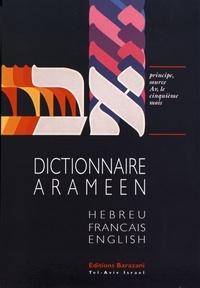 Dictionnaire araméen du Talmud, du Midrach et du Targoum avec citations hébreu-français-anglais - Volume 1.pdf