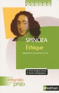 Bibliothèque électronique en ligne: Ethique  - Appendices aux parties 1 et 4 par Baruch Spinoza 9782091875699 DJVU in French