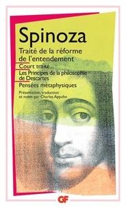 Téléchargement gratuit de livres audio anglais mp3 Oeuvres Tome 1 : Court Traité  - Traité de la Réforme de l'entendement,Principes de la philosophie de Descartes,Pensées métaphysiques iBook