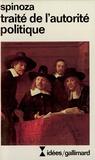 Baruch Spinoza - Traité de l'autorité politique.