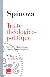 Baruch Spinoza - Traité théologico-politique.