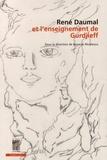 Basarab Nicolescu - René Daumal et l'enseignement de Gurdjieff - Etudes, correspondances et documents inédits.