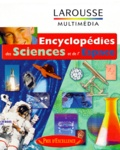 Larousse - ENCYCLOPEDIES DES SCIENCES ET DE L'ESPACE. - 2 CD-Rom.