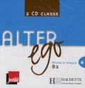 Hachette FLE - Alter ego 4 B2 - 2 CD audio classe.