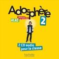 Céline Himber et Marie-Laure Poletti - Adosphère 2 A1-A2. 2 CD audio