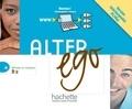 Catherine Dollez et Sylvie Pons - Alter ego Niveau 4 - Carte de téléchargement Manuel numérique interactif pour l'enseignant.